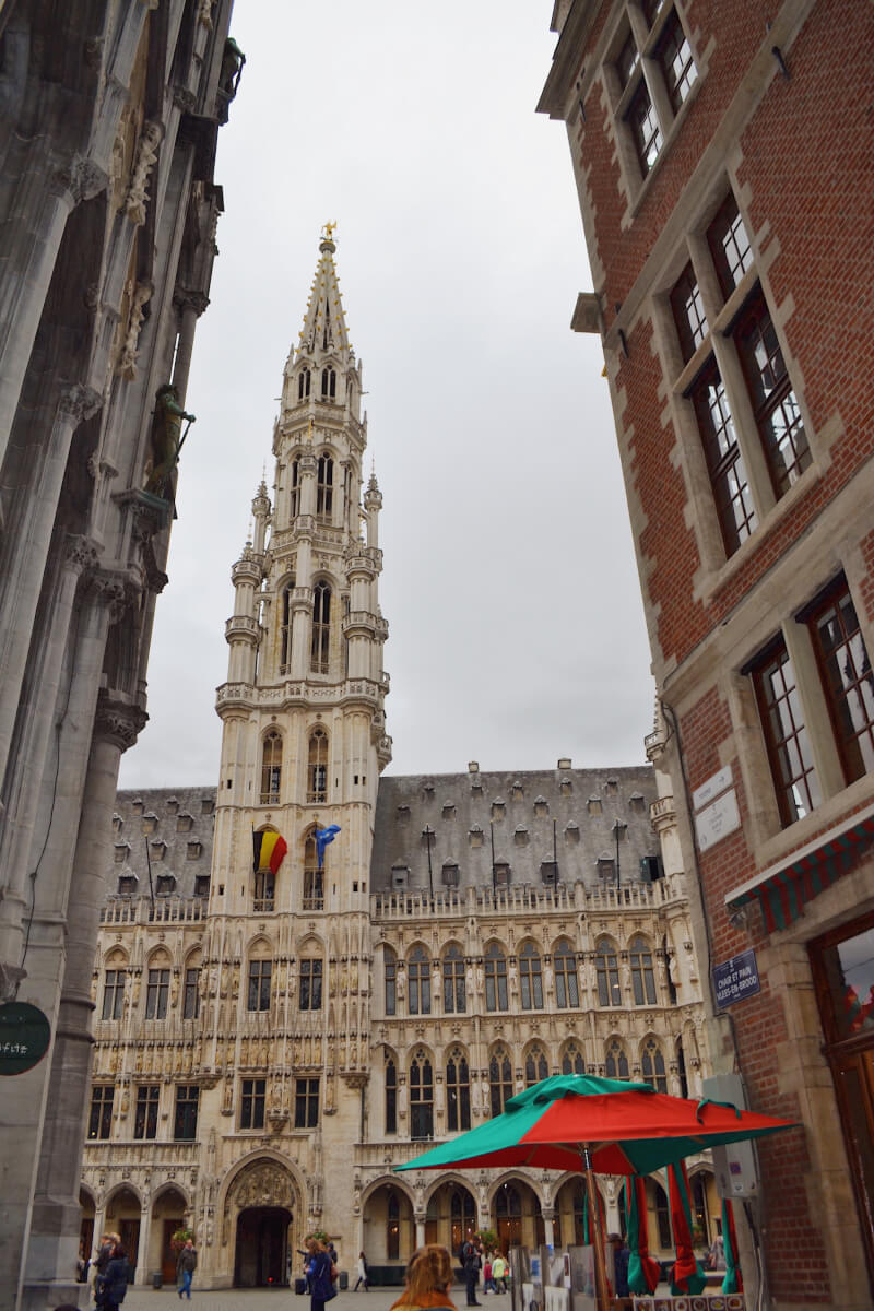 image of grand place, 24 hours in Brussels