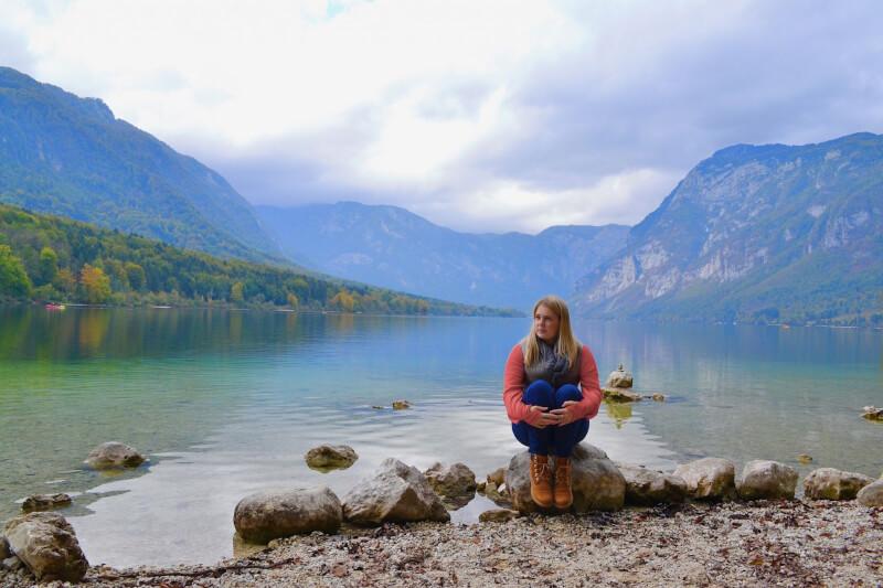 image of where charlie wanders at Lake Bohinj