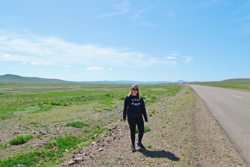 image of where Charlie wanders in Mongolia