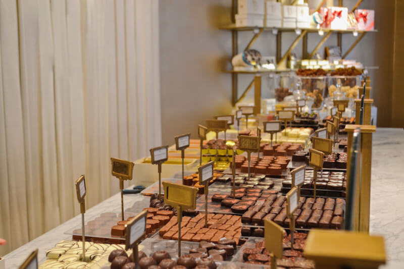 image of Marys chocolate in Brussels