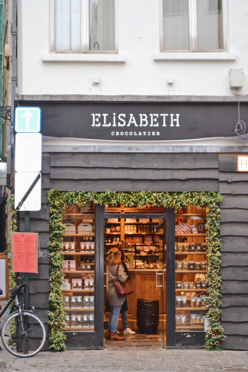image of Elizabeth chocolate in brussels
