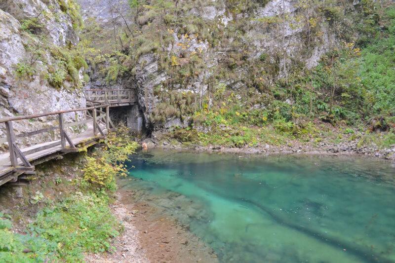 Image of Vintgar Gorge