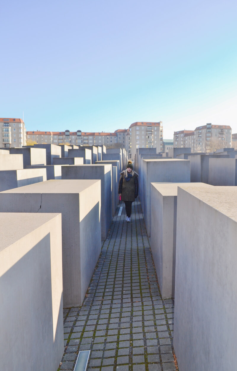 image of the memorial to the murdered Jews of Europe