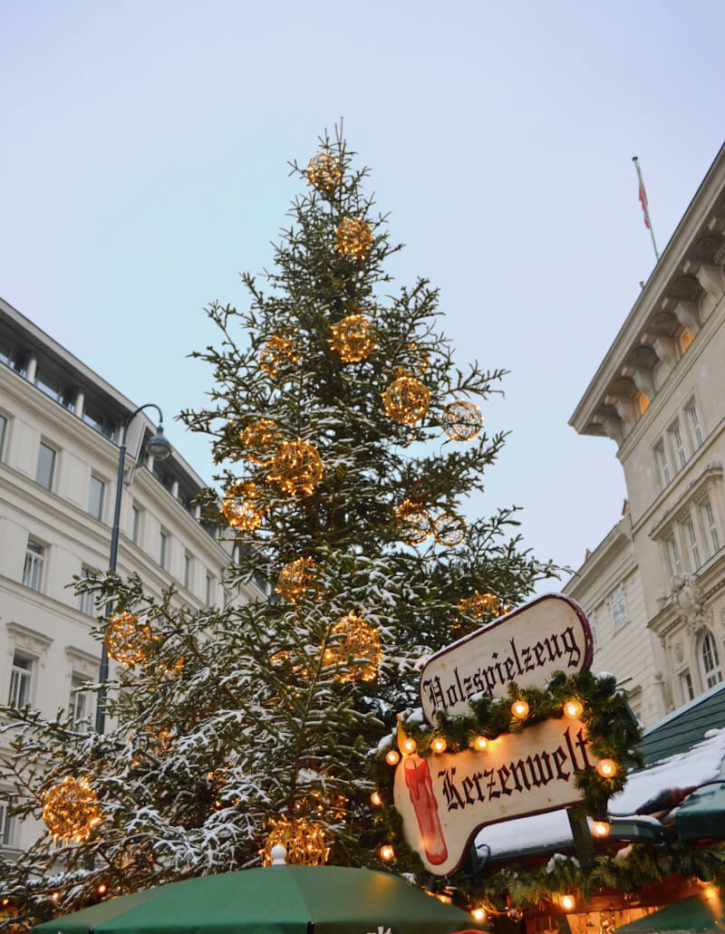 image of Altwiener Christkindlmarket on the Freyung Christmas Markets in Vienna