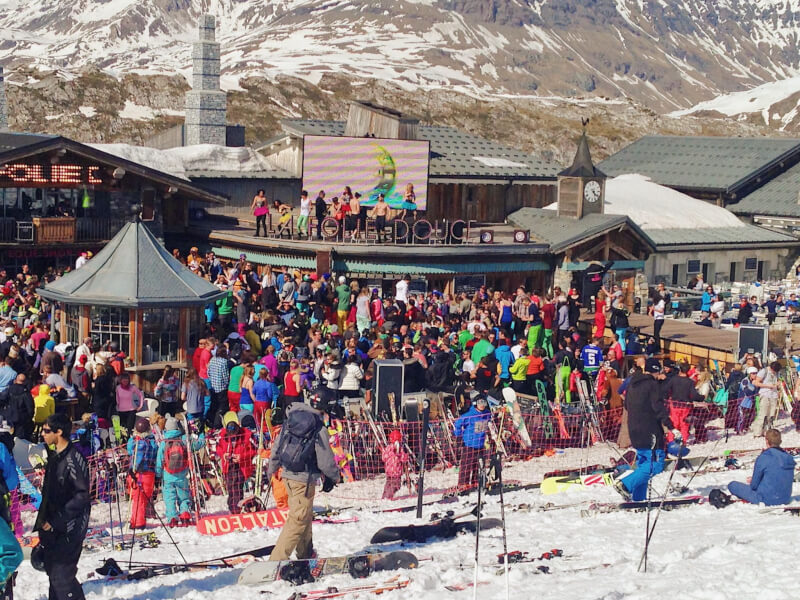 image of the folie douce in Val D'isere