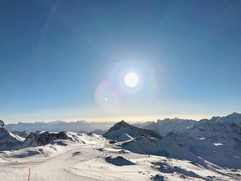 image of cervinia, best ski resorts in Europe