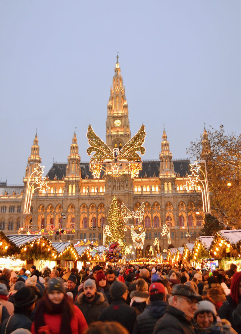 image of Rathaus, Christmas Markets in Vienna