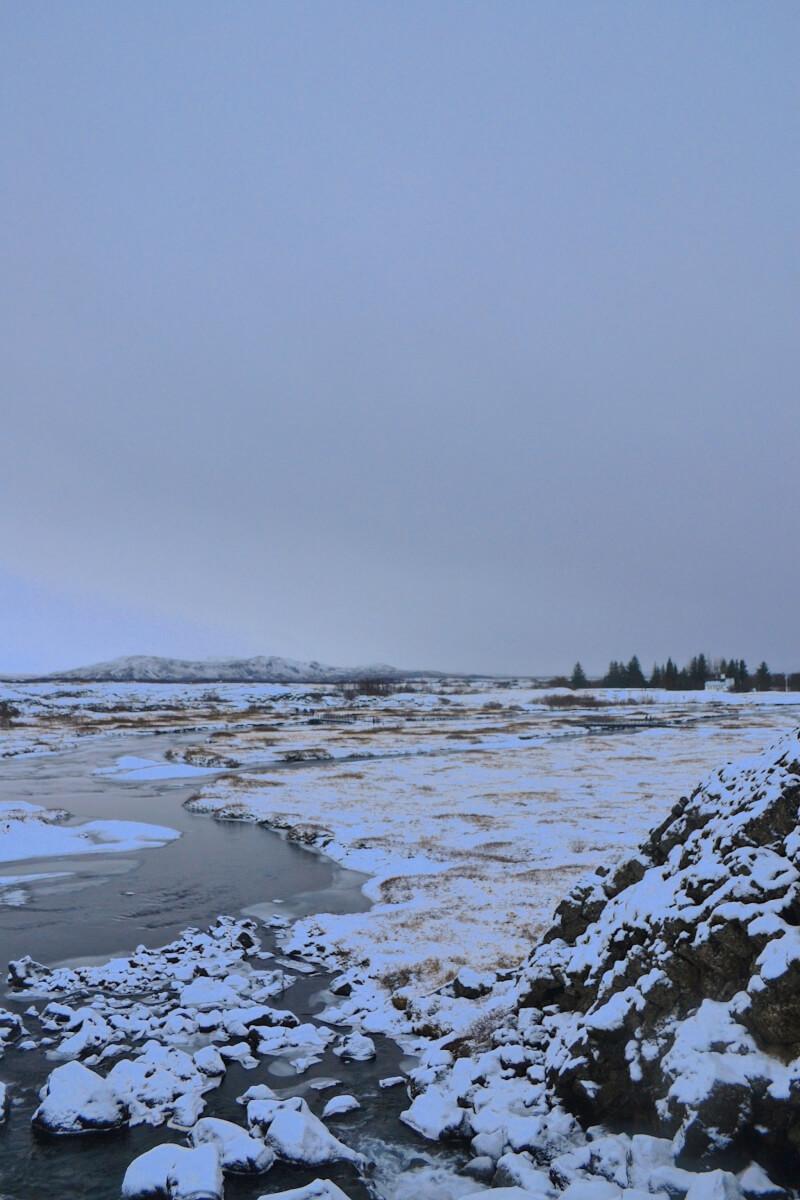 Image of Thingvellir National Park on golden circle tour