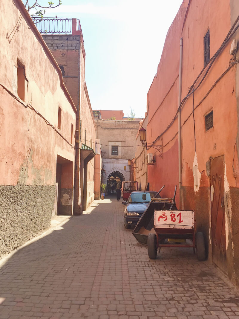 image of medina in Marrakech