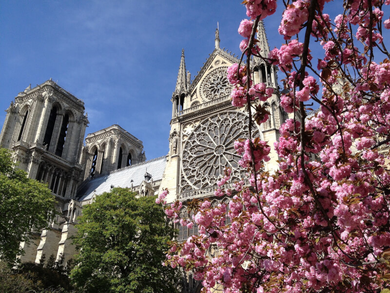 image of Paris in spring