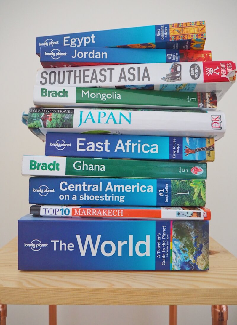 Image of why I still use travel guidebooks