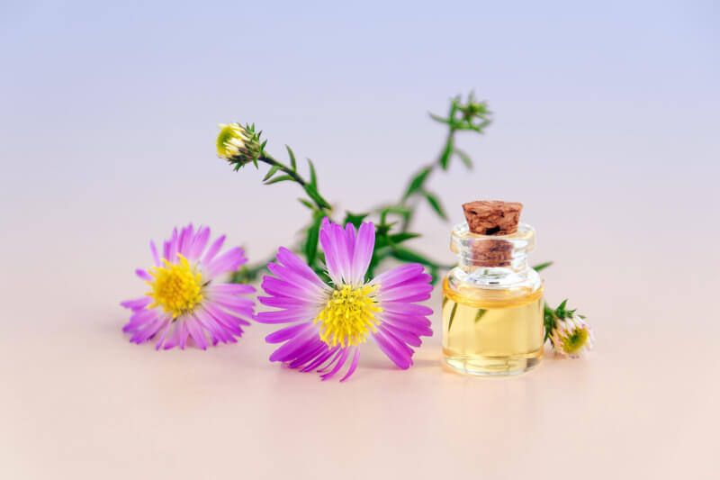 image of flowers and potion