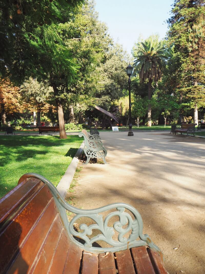 image of parque Forestal, Santiago