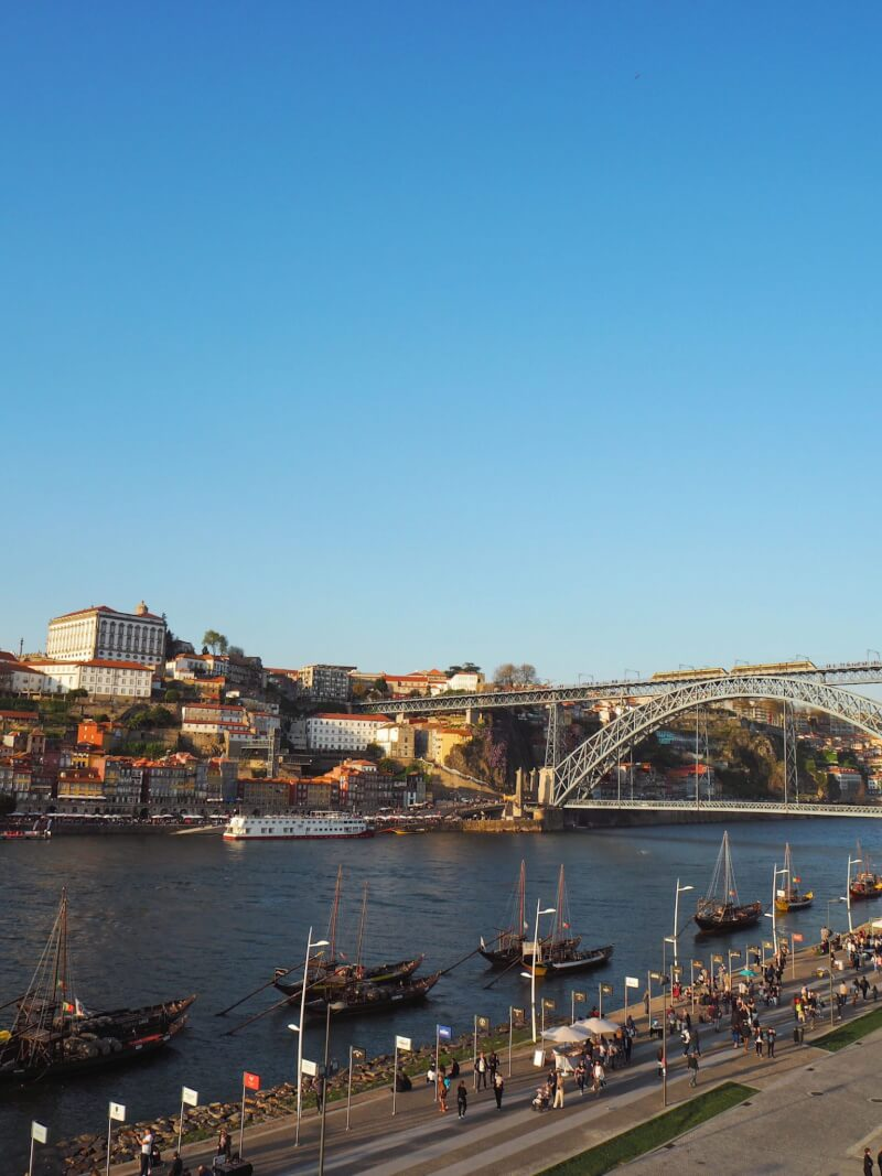 image of Douro river in porto