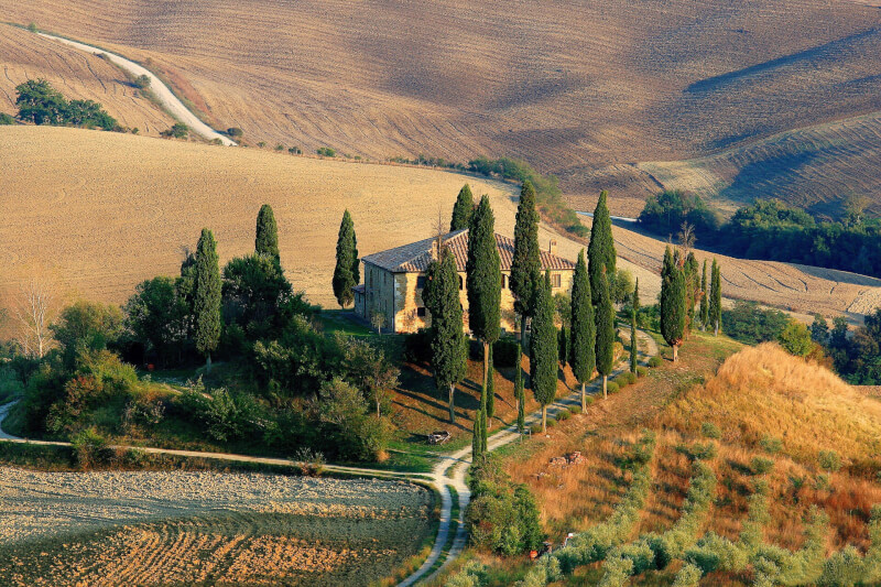 image of Tuscany - best places to travel in summer