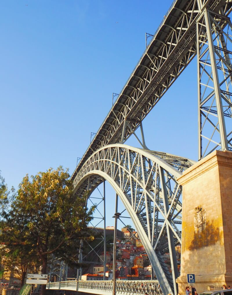 Image of the iconic Dom Luis bridge