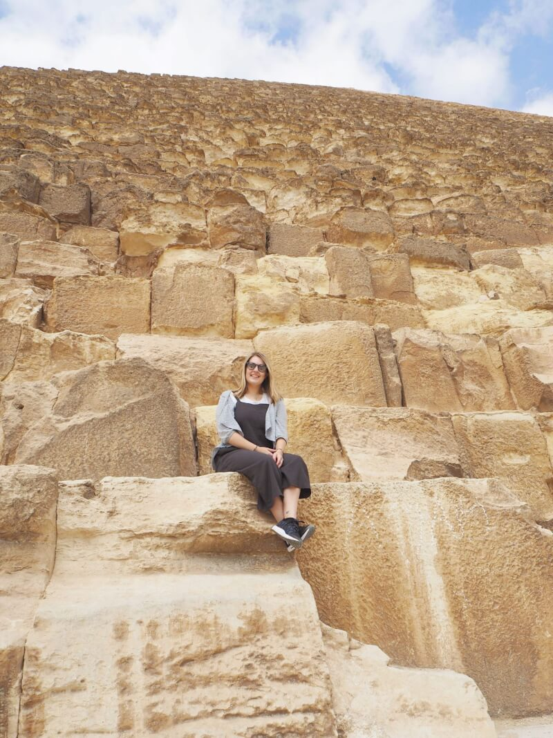 Viewing the Great Pyramid of Khufu
