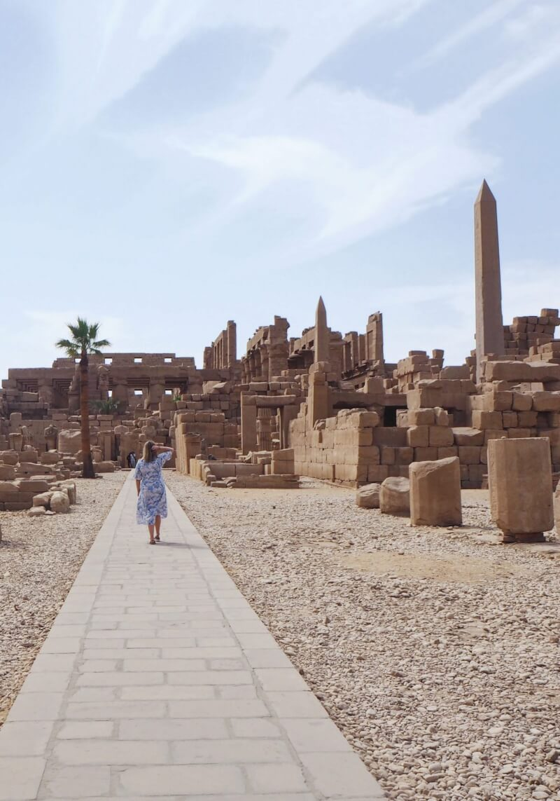 wandering through Karnak