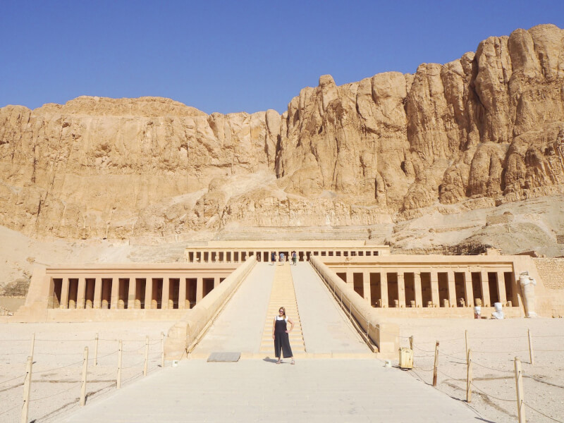 Temple of Hatsheput is a must see temple in Egypt