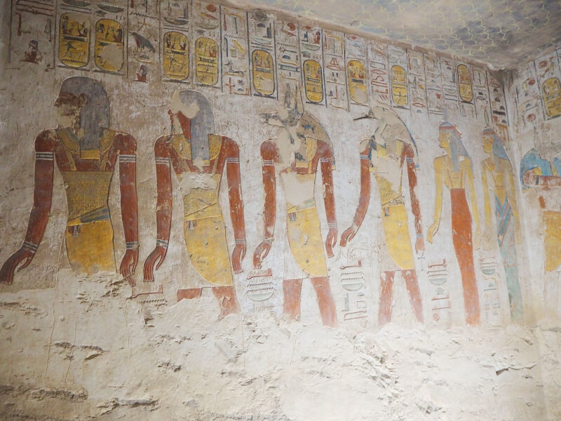 Merenptah's tomb in valley of the kings