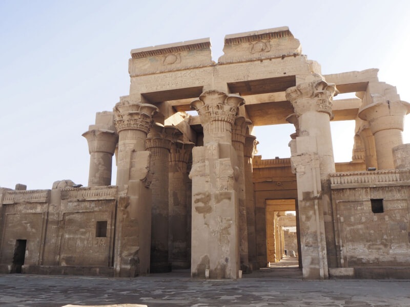 the temple of Kom Ombo is a must see temple in Egypt