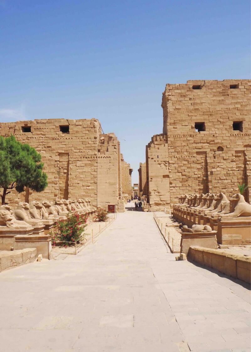 Karnak temple is a must see temple in Egypt