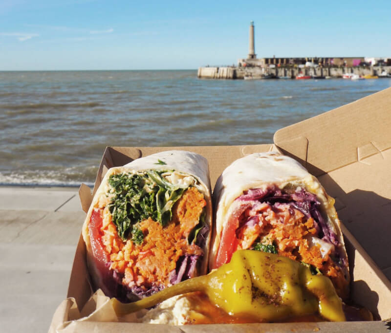 image of lunch over looking Margate Beach