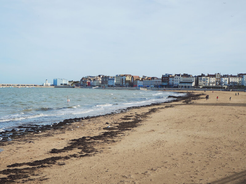 Image of Margate Main Sands on a Microgap in Margate