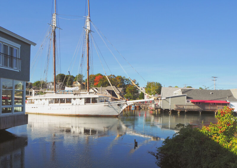 image of the Spirit of Massachusetts which is a must thing to do in Kennebunkport