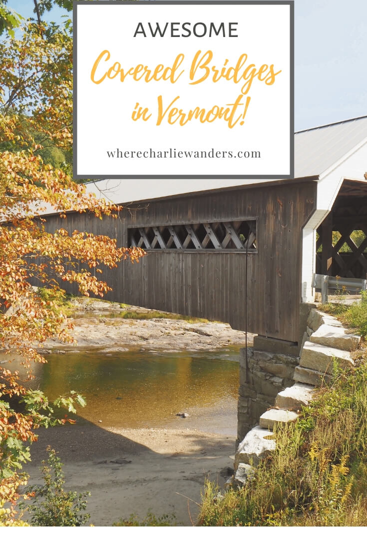 image of covered bridges in Vermont