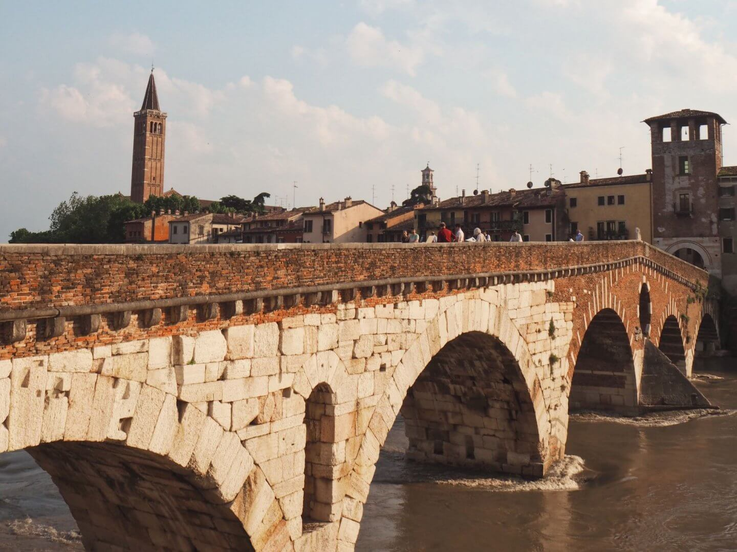 image of the city of Verona, on a day trip from 3 days in Venice,