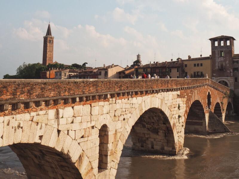 image of Ponte Pietra in Verona