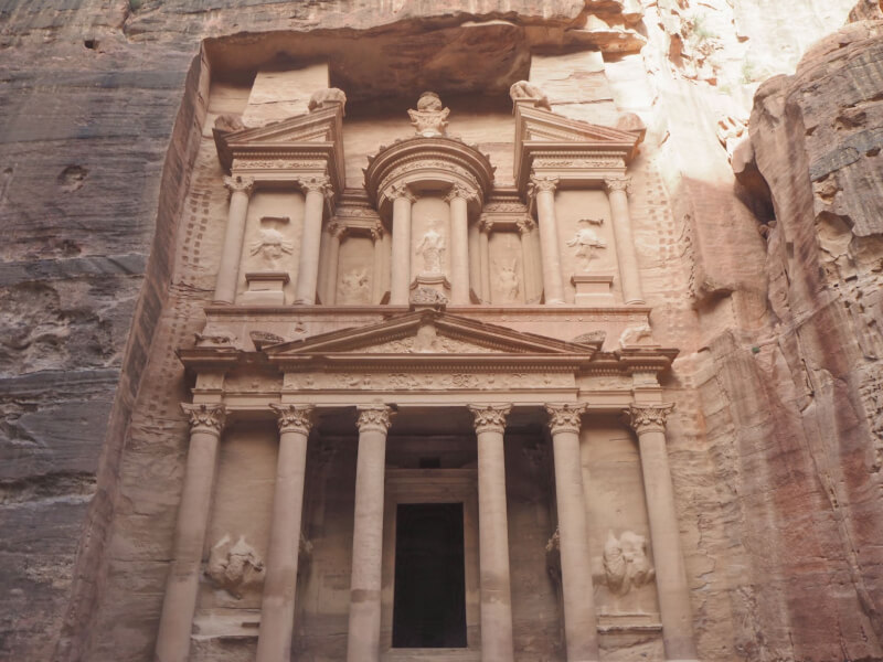 Image of Petra in Jordan