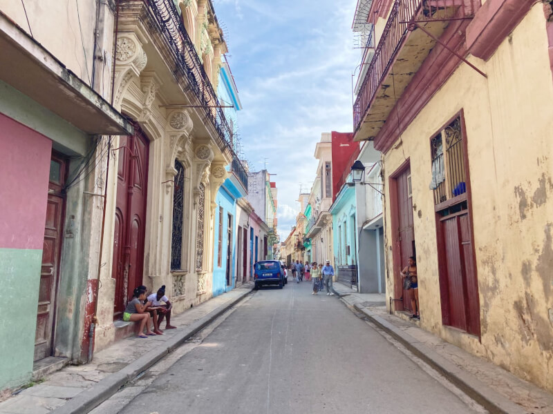 image of the streets of Havana, Cuba
