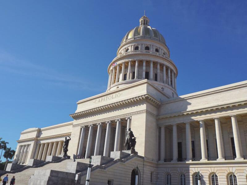 image of the Capitolio, in Havana, Cuba