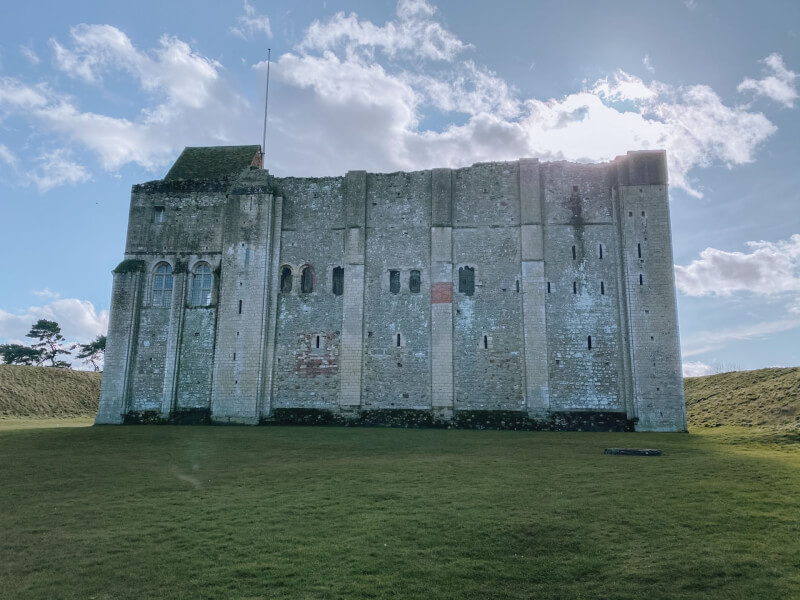 image of Castle Rising in Norfolk