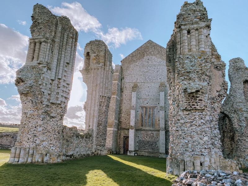image of Binham Priory in Norfolk