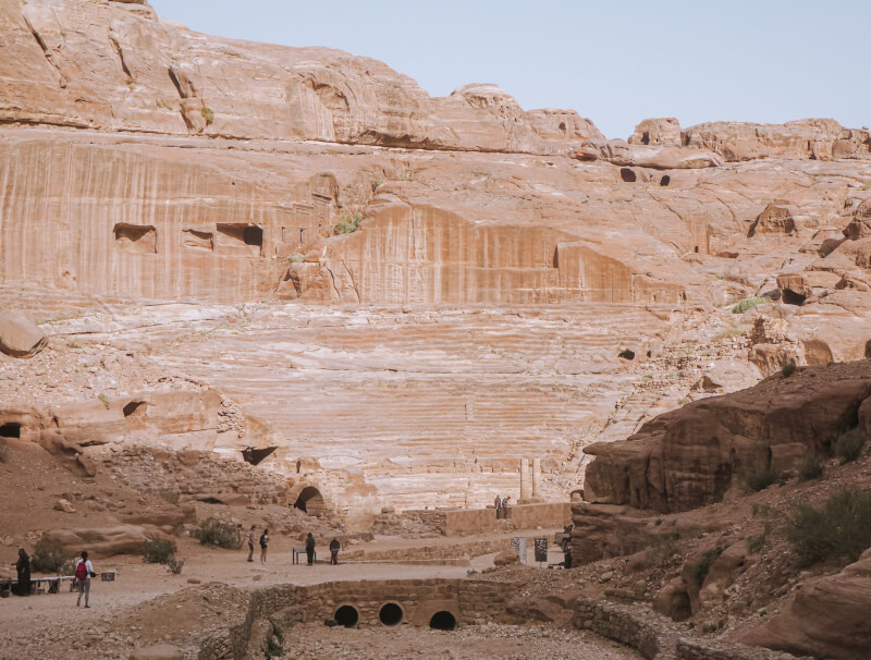 image of theatre on a visit to Petra