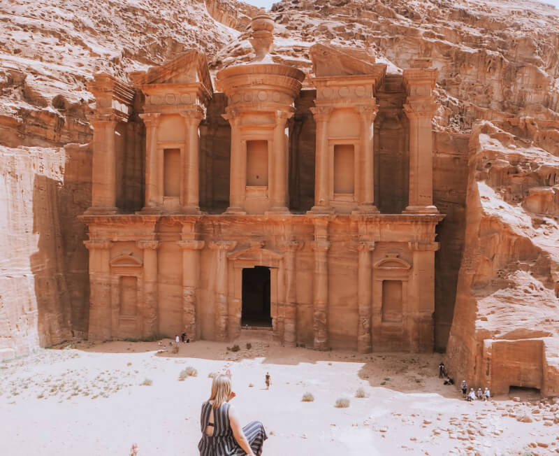 image of Monastery at Petra