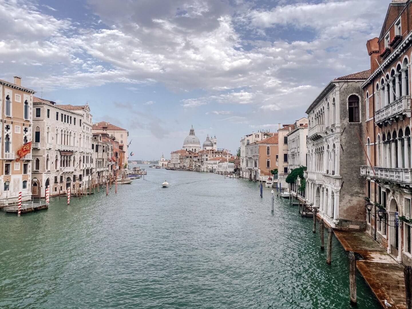 Image of Grand Canal from Ponte dell'Accademia, Venice