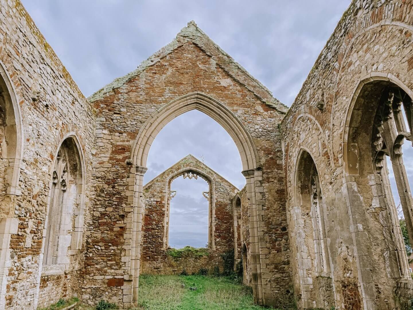image of the ruins in Norfolk of Wiggenhall Saint Peter