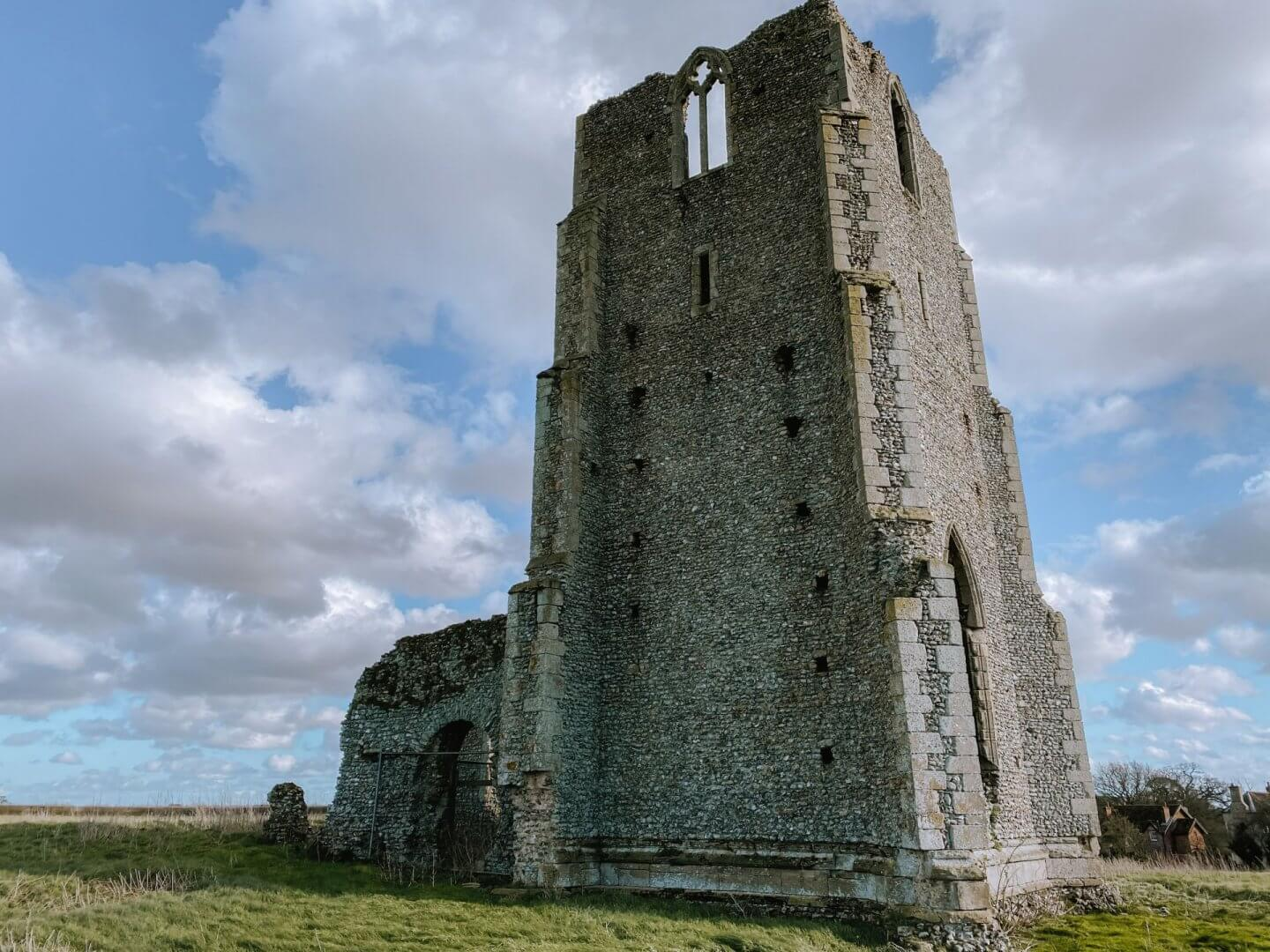 image of Egmere church ruins, Norfolk