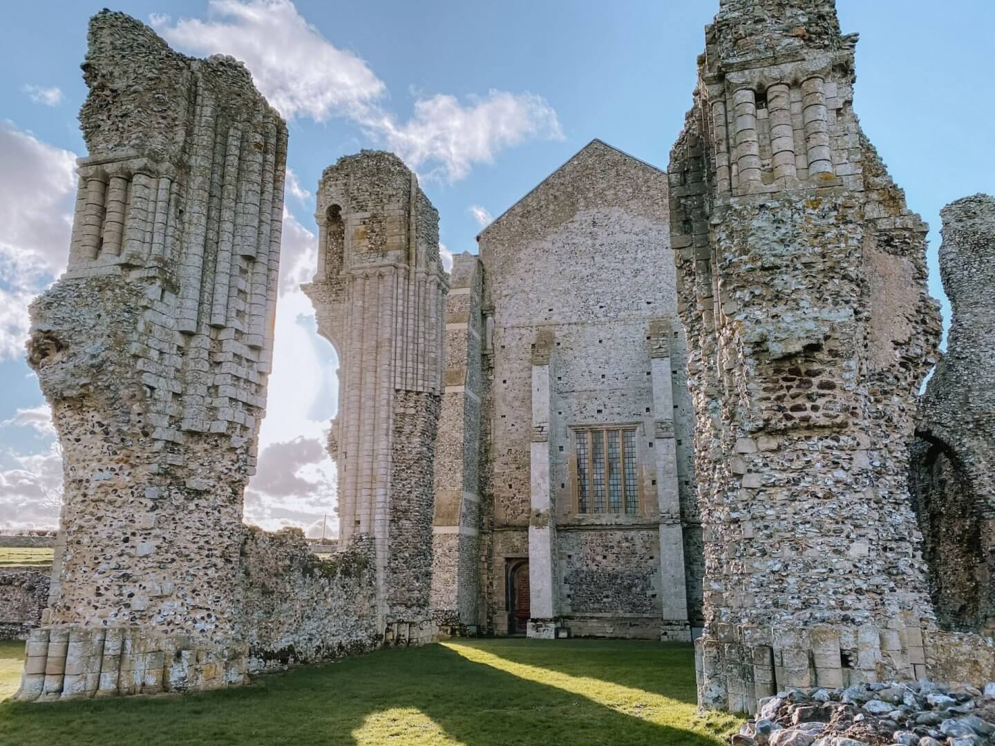 image of Binham Priory in North Norfolk