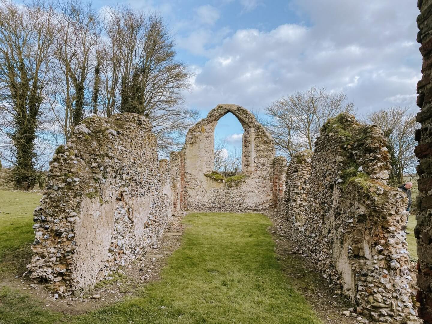 image of st Martin Ruins in Norfolk