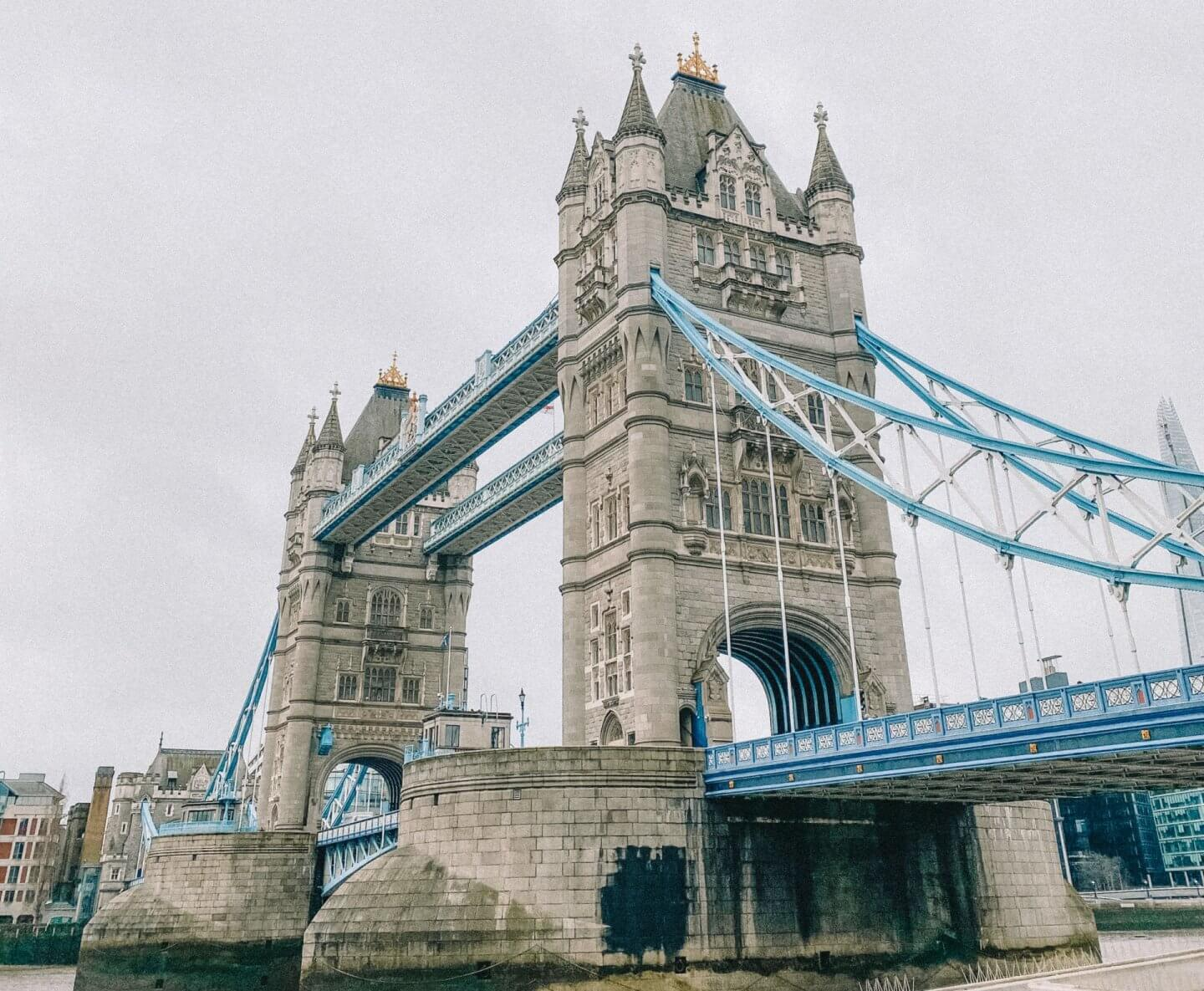 image of tower bridge, London as part of the 2020 roundup.