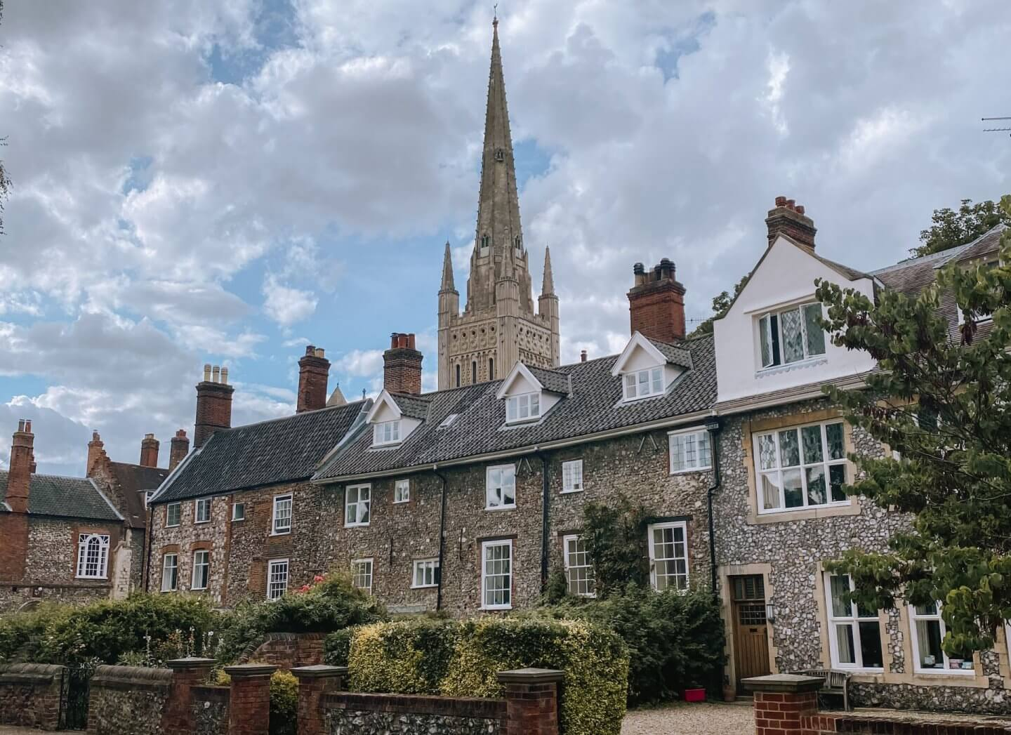 image of Cathedral close in Norwich