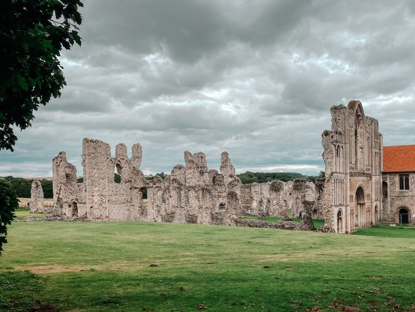 Image of Castle Acre Priory in Norfolk