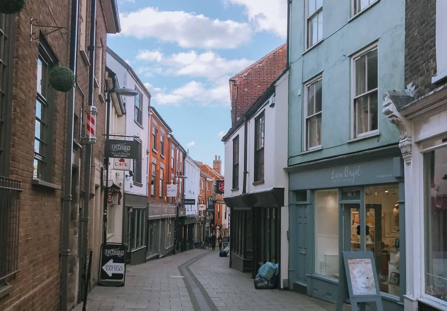 Image of Lower Goat Lane in the Norwich Lanes