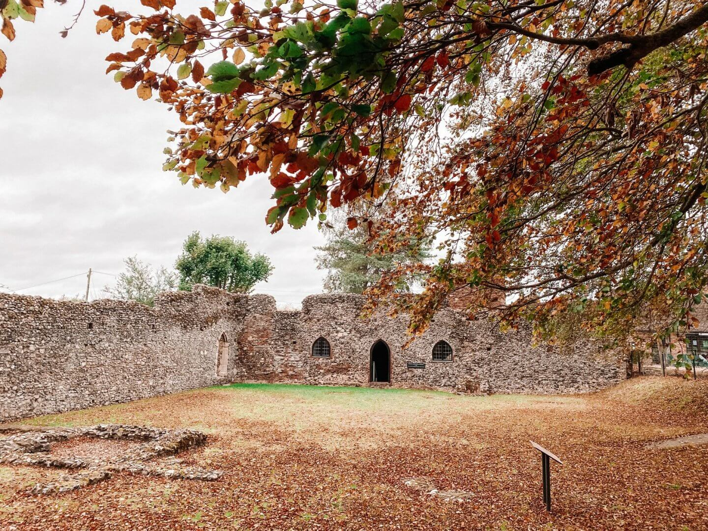 image of ruins of St Olaves priory, Norfolk