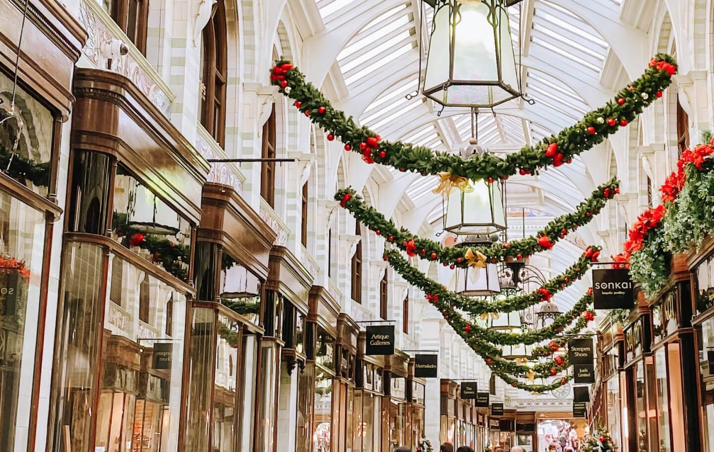 Image of the royal arcade, amazing places to visit in Norwich